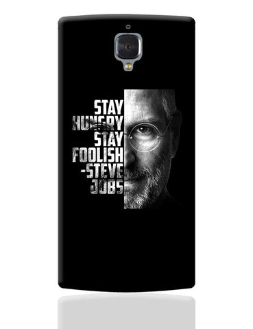 Steve Jobs OnePlus 3 Cover Online India