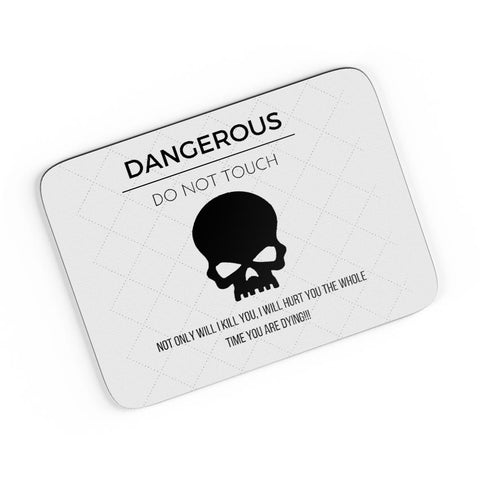Dangerous A4 Mousepad Online India