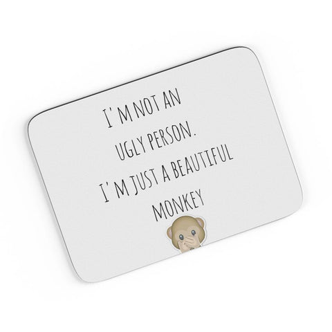 Beautiful Monkey - That's Me! A4 Mousepad Online India