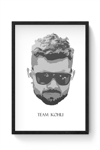 Team Kohli Framed Poster Online India