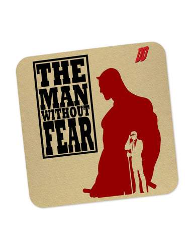 Coasters | The Man Behind Fear Daredevil Inspired Coaster 1533014829 Online India | PosterGuy.in