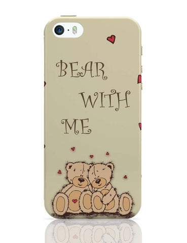 iPhone 5 / 5S Cases & Covers | Valentine'S Day Gift | Teddy Bear iPhone 5 / 5S Case Online India