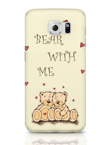 Samsung Galaxy S6 Covers | Valentine'S Day Gift | Teddy Bear Samsung Galaxy S6 Covers Online India
