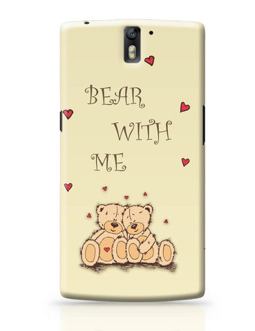 OnePlus One Covers | Valentine'S Day Gift | Teddy Bear OnePlus One Cover Online India