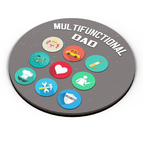 Multifunctional Father | Fathers Day Fridge Magnet Online India