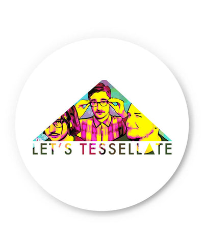 PosterGuy | Let's Tessellate Alt-J Inspired Pop Art Fridge Magnet 1543017319 Online India