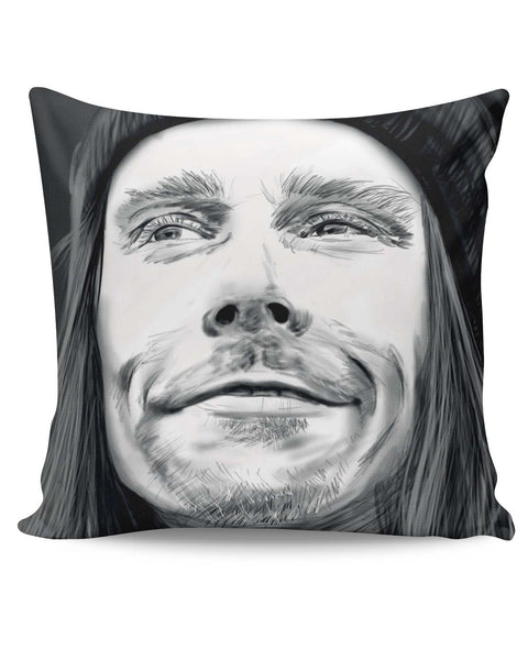 PosterGuy | Myles Kennedy Face Sketch Cushion Cover Online India