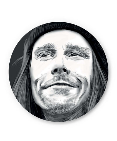 PosterGuy | Myles Kennedy Face Sketch Fridge Magnet 1543027319 Online India