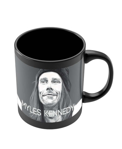 Mugs | Myles Kennedy Face Sketch Black Coffee Mug Online India