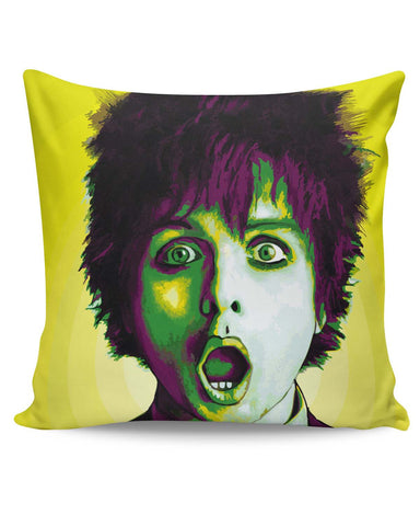 PosterGuy | Billie Joe Armstrong Green Day Inspired Cushion Cover Online India