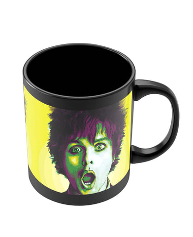 Mugs | Billie Joe Armstrong Green Day Inspired Black Coffee Mug Online India