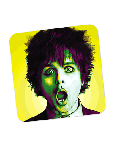 Coasters | Billie Joe Armstrong Green Day Inspired Coaster 1543037329 Online India | PosterGuy.in