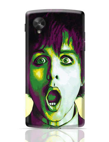 Google Nexus 5 Covers | Billie Joe Armstrong Green Day Inspired Google Nexus 5 Cover Online India