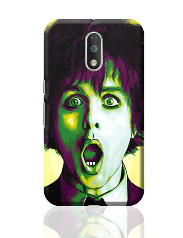 Billie Joe Armstrong Green Day Inspired Moto G4 Plus Online India