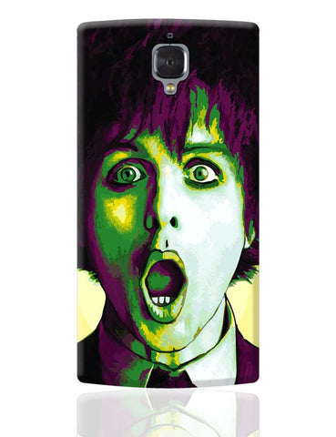 Billie Joe Armstrong Green Day Inspired OnePlus 3 Cover Online India