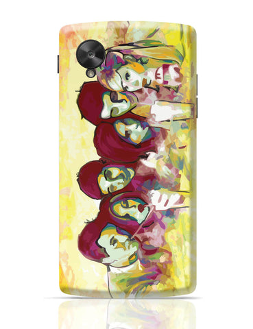 Google Nexus 5 Covers | Friends in Technicolor TV Series Google Nexus 5 Cover Online India