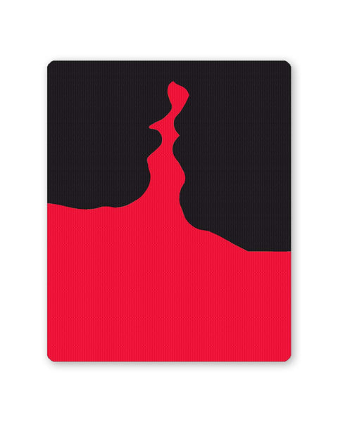 PosterGuy | Kiss Of Love Silhouette Mouse Pad 1553044516-mp Online India