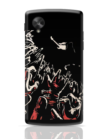 Google Nexus 5 Covers | Rock Concert Painting Google Nexus 5 Cover Online India