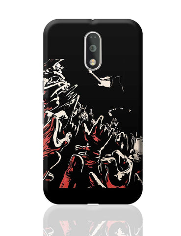 Rock Concert Painting Moto G4 Plus Online India