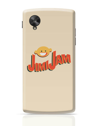 Google Nexus 5 Covers | Jimi Jam Funny Google Nexus 5 Cover Online India