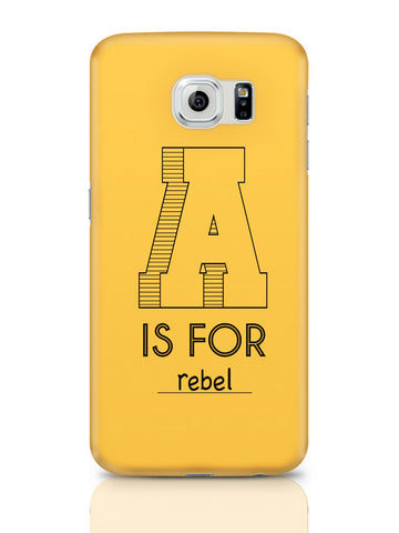 Samsung Galaxy S6 Covers & Cases | A Is For Rebel Samsung Galaxy S6 Covers & Cases Online India