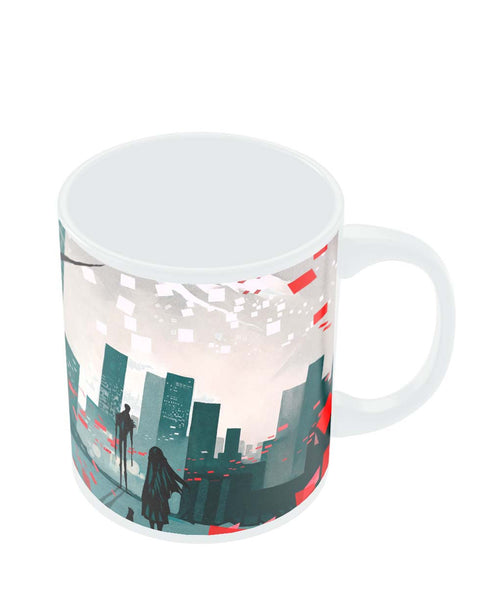 Coffee Mugs Online | I am Lonely Art Illusttration Mug Online India
