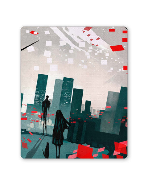 Buy Mousepads Online India | I am Lonely Art Illusttration Mouse Pad Online India