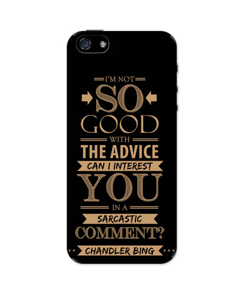 iPhone 5 / 5S Cases & Covers | Can I Interest You In A Sarcastic Comment iPhone 5 / 5S Case Online India