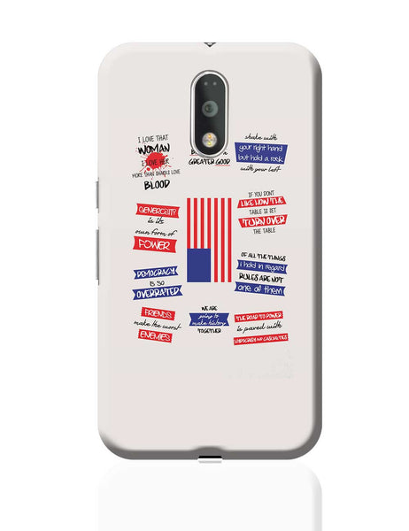 Quotes from House Of Cards Moto G4 Plus Online India