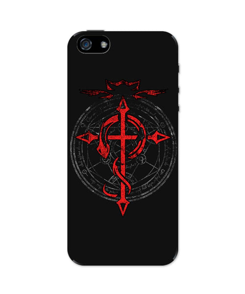 iPhone 5 / 5S Cases & Covers | Full Metal Alchemist Inspired iPhone 5 / 5S Case Online India
