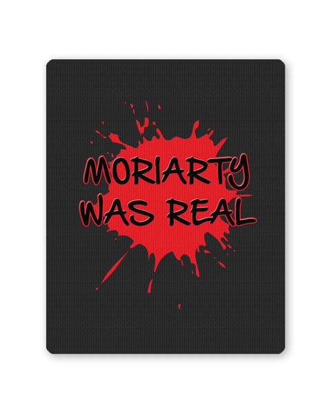 Buy Mousepads Online India | Moriarty Was Real Splash Sherlock Inspired Mouse Pad Online India