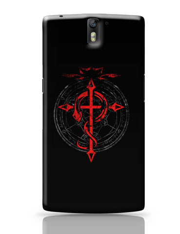 OnePlus One Covers | Full Metal Alchemist Inspired Fan Art OnePlus One Cover Online India