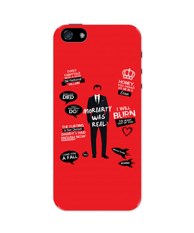 iPhone 5 / 5S Cases & Covers | Moriarty Was Real iPhone 5 / 5S Case Online India