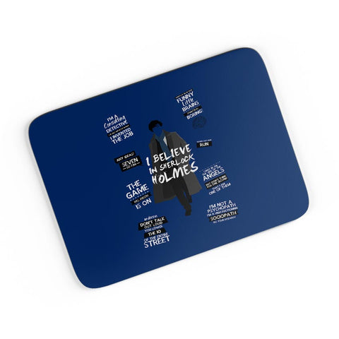I Believe In Sherlock Holmes | Fan Art  A4 Mousepad Online India