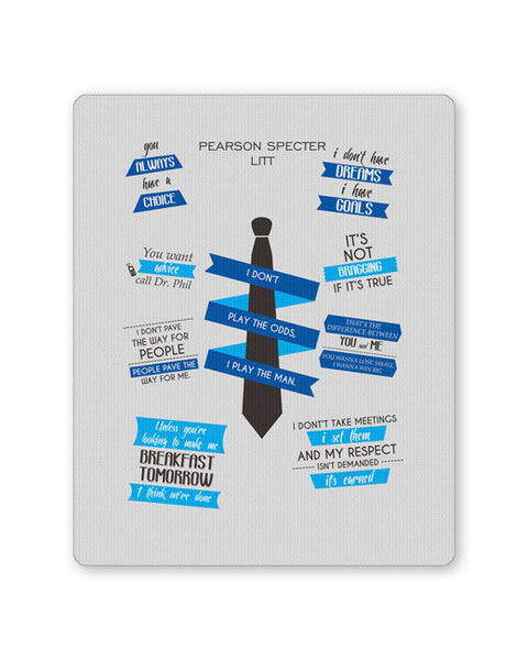 Buy Mousepads Online India | I Don't Play The Man | I Play The Odds Mouse Pad Online India