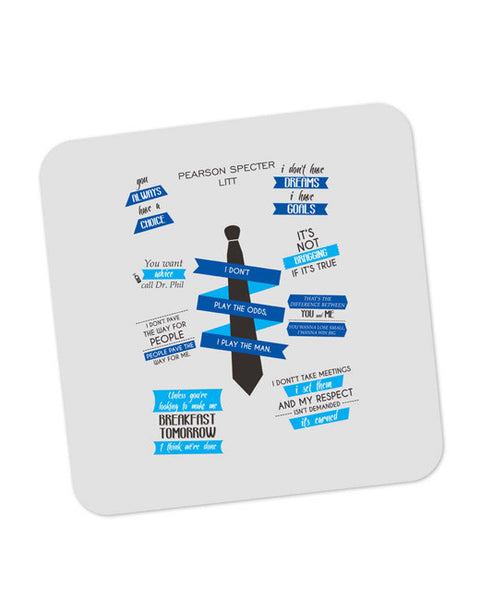 Buy Coasters Online | I Don't Play The Man | I Play The Odds Coaster Online India | PosterGuy.in