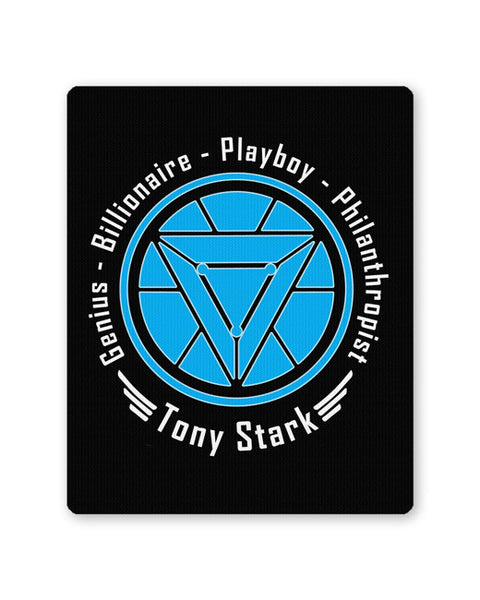 Buy Mousepads Online India | Genius Playboy Billionaire Philanthropist | Tony Mouse Pad Online India