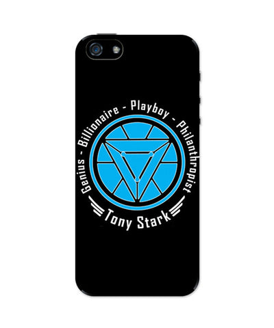 iPhone 5 / 5S Cases & Covers | Genius Playboy Billionaire Philanthropist | Tony iPhone 5 / 5S Case Online India