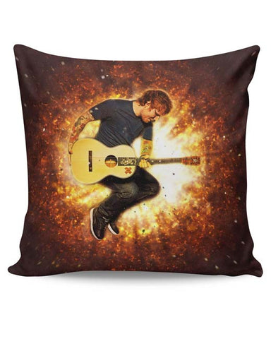 PosterGuy | Ed Sheeran Fire Cushion Cover Online India