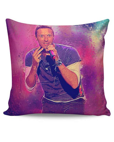 PosterGuy | Chris Martin Coldplay Cushion Cover Online India