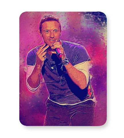 Buy Mousepads Online India | Chris Martin Coldplay Mouse Pad Online India