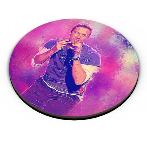 PosterGuy | Chris Martin Coldplay Fridge Magnet Online India by SkyLit Designs