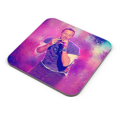Buy Coasters Online | Chris Martin Coldplay Coaster Online India | PosterGuy.in