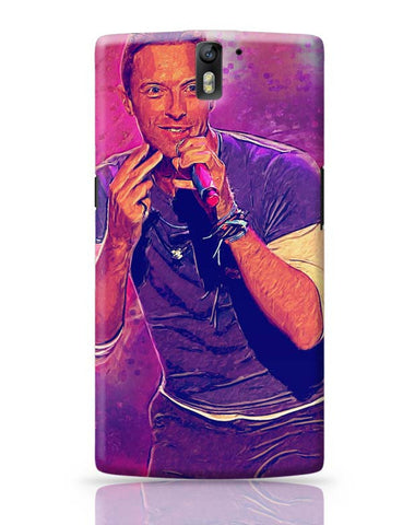 OnePlus One Covers | Chris Martin Coldplay OnePlus One Case Cover Online India