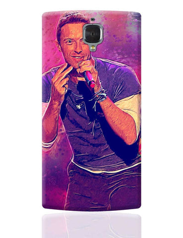Chris Martin Coldplay OnePlus 3 Cover Online India