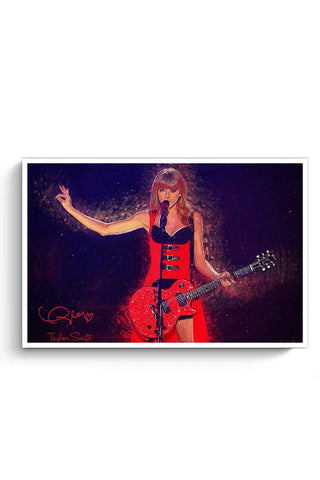 Posters Online | Taylor Swift Painting Poster Online India | Designed by: SkyLit Designs