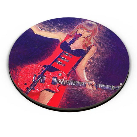 PosterGuy | Taylor Swift Painting Fridge Magnet Online India by SkyLit Designs