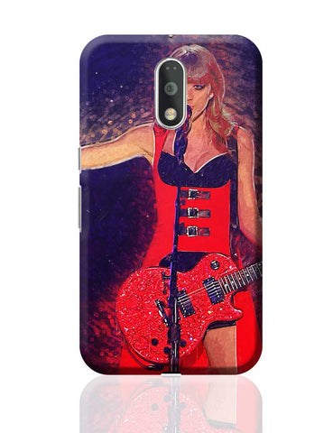 Taylor Swift Painting Moto G4 Plus Online India