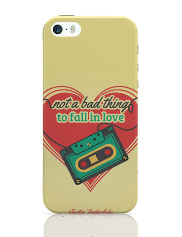 iPhone 5 / 5S Cases & Covers | Not A Bad Thing - Justin Timberlake iPhone 5 / 5S Case Online India