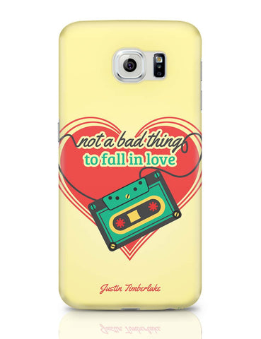 Samsung Galaxy S6 Covers | Not A Bad Thing - Justin Timberlake Samsung Galaxy S6 Case Covers Online India